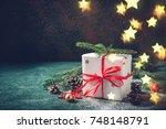Christmas Gift Box Festive...