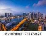singapore   august 22  2017... | Shutterstock . vector #748173625