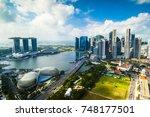 singapore   august 21  2017... | Shutterstock . vector #748177501