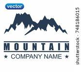 mountain logo | Shutterstock .eps vector #748186015
