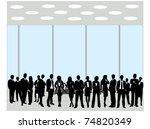 business people | Shutterstock .eps vector #74820349