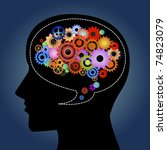 talk creatively | Shutterstock . vector #74823079