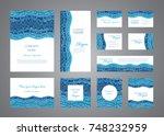 identity design vector template ... | Shutterstock .eps vector #748232959
