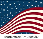 Background Stylized Flag United ...