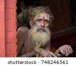 kathmandu  nepal   september 29 ... | Shutterstock . vector #748246561