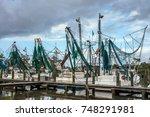Shrimp Trawlers  Harkers Islan...