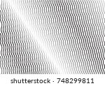 minimal grey scale a4 cover... | Shutterstock .eps vector #748299811