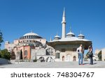 istanbul  turkey   october 12 ... | Shutterstock . vector #748304767