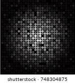 random dots background ... | Shutterstock .eps vector #748304875