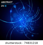 abstract background vector | Shutterstock .eps vector #74831218