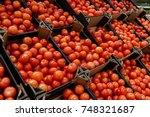 Fresh Red Tomatoes In Polish...