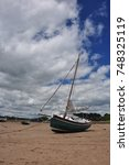 Small photo of Low tide Amble Northumberland, River Coquet