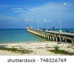 neil island  india   december... | Shutterstock . vector #748326769