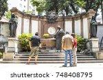 sao paulo  brasil  november 11  ... | Shutterstock . vector #748408795