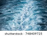 nature water background of... | Shutterstock . vector #748409725