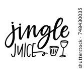jingle juice | Shutterstock .eps vector #748430035