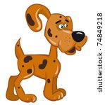 fun dog | Shutterstock . vector #74849218