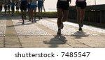 runners | Shutterstock . vector #7485547