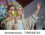 Virgin Mary Queen Of Peace Wit...