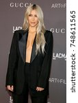 kim kardashian at the 2017... | Shutterstock . vector #748611565