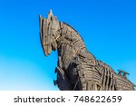 canakkale  turkey   july 21 ...   Shutterstock . vector #748622659