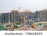 noida  india  july 2017  high... | Shutterstock . vector #748628545