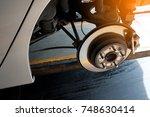 modern car disc brake to be...   Shutterstock . vector #748630414