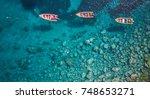martinique island in the...   Shutterstock . vector #748653271