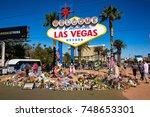 las vegas  nevada   october 15  ...   Shutterstock . vector #748653301