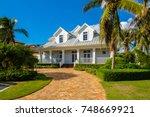 naples  florida   november 1 ...   Shutterstock . vector #748669921