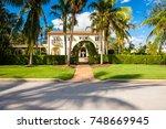naples  florida   november 1 ...   Shutterstock . vector #748669945