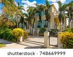 naples  florida   november 1 ...   Shutterstock . vector #748669999