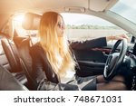 transportation  people and... | Shutterstock . vector #748671031