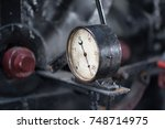 Old Manometer In Steam...