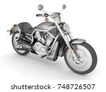 3d render isolated white... | Shutterstock . vector #748726507
