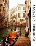 venice  italy   january 2015 ... | Shutterstock . vector #748747081