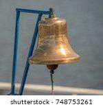 ship's bell | Shutterstock . vector #748753261