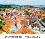 fussen old town aerial...   Shutterstock . vector #748780189
