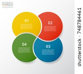step by step infographic.... | Shutterstock .eps vector #748784461