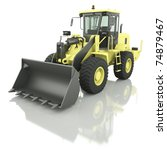 wheel loader | Shutterstock . vector #74879467