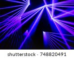colorful lights abstract... | Shutterstock . vector #748820491