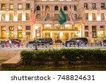 new york city   september 28 ...   Shutterstock . vector #748824631