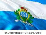 San Marino Flag. Flag Of San...