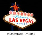 las vegas historic sign | Shutterstock . vector #748853