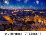 Prague Castle With Snow...