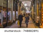 london  november  2017 ... | Shutterstock . vector #748882891