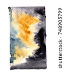 watercolor blotch | Shutterstock . vector #748905799