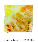 watercolor blotch | Shutterstock . vector #748905805