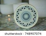 shamanic tambourine. shamanic... | Shutterstock . vector #748907074