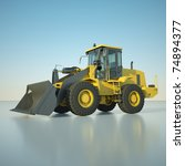 wheel loader | Shutterstock . vector #74894377
